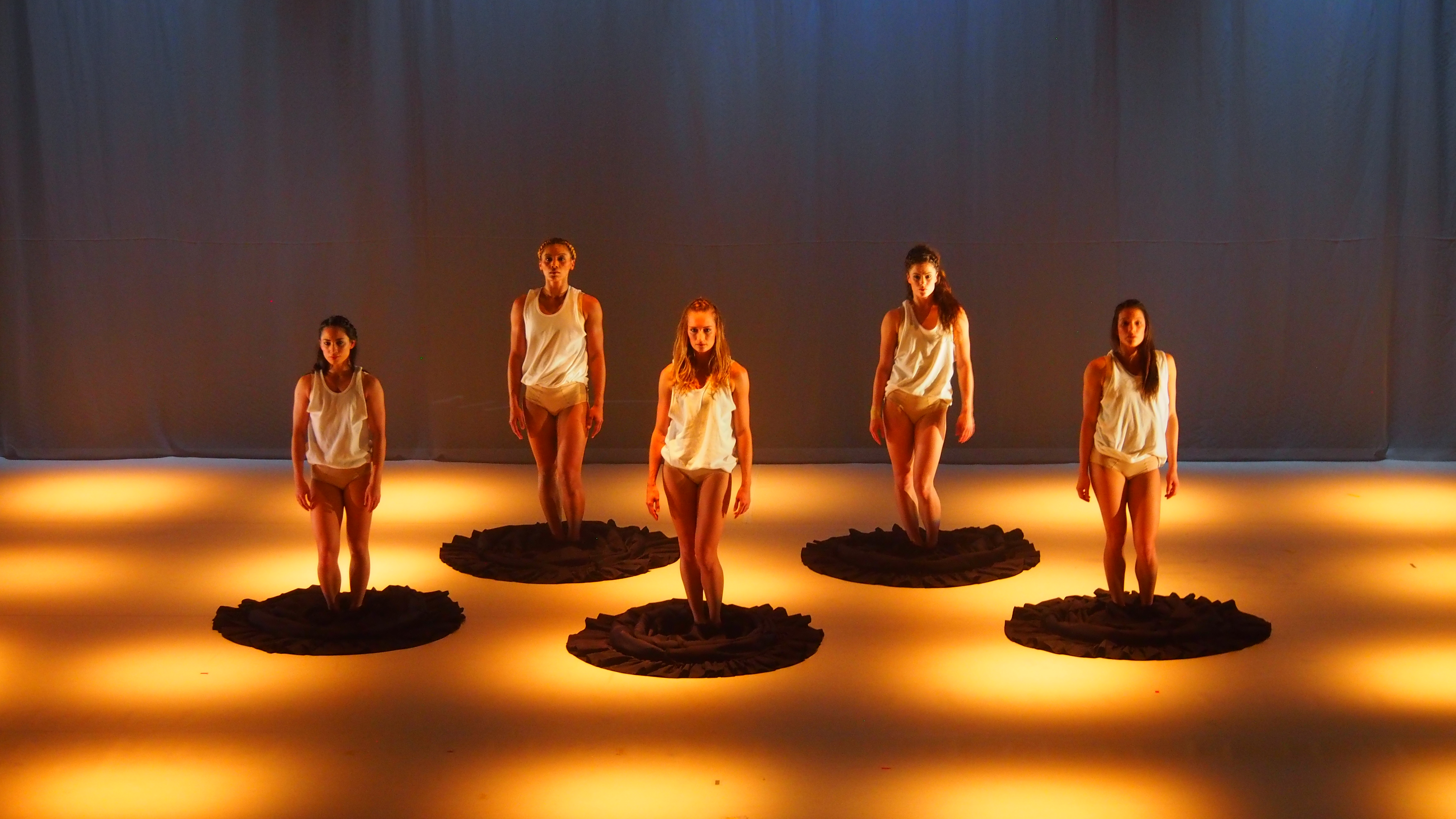 Okareka Dance Company. Kelly Nash production photo
