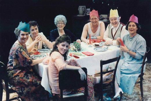 Christmas Day dinner - original production 1992