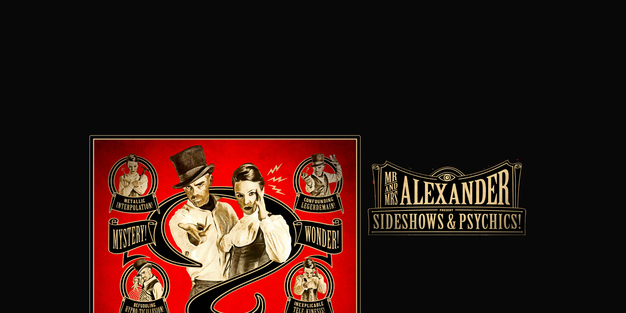 Mr and Mrs alexander website header