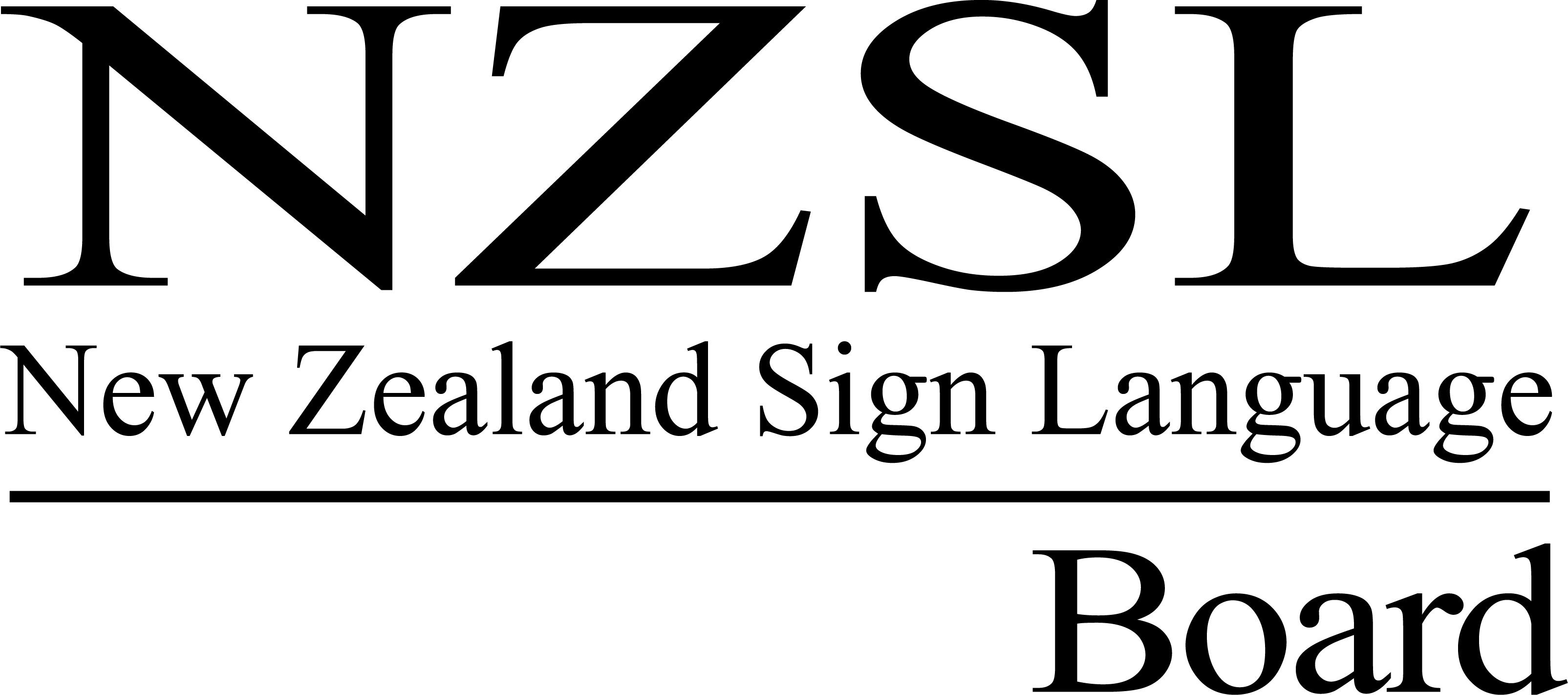 NZSL Board brand_black