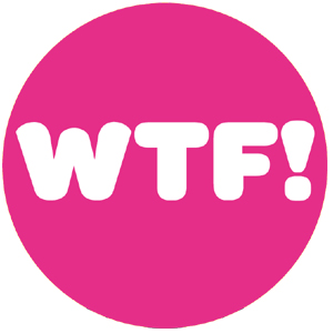 WTF! badge