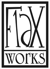Flaworks logo - Conversations with Dead Relatives
