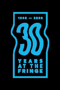 Fringe 30yr - Cyan Logo L