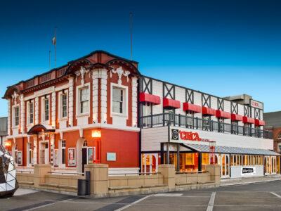 Circa Theatre building facade