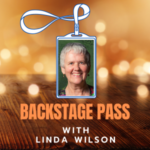 Copy of BACKSTAGE PASS Linda