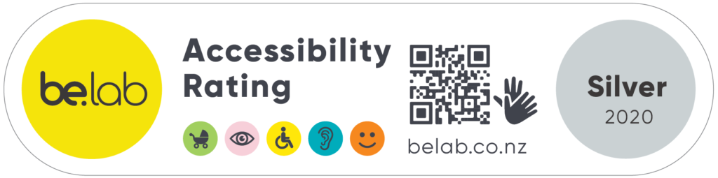 Be. Lab. Accessibility Rating: Silver 2020